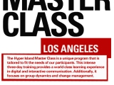 Hyper Island Master Class in Los Angeles from March 21-23