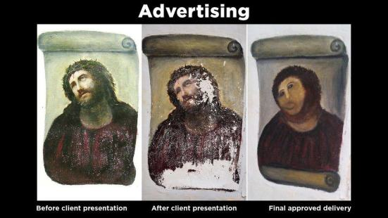 Advertising Ecce Homo